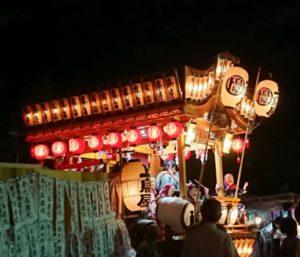 鳥屋諏訪神社例大祭