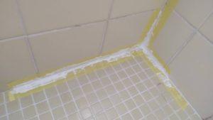 お風呂場の修繕